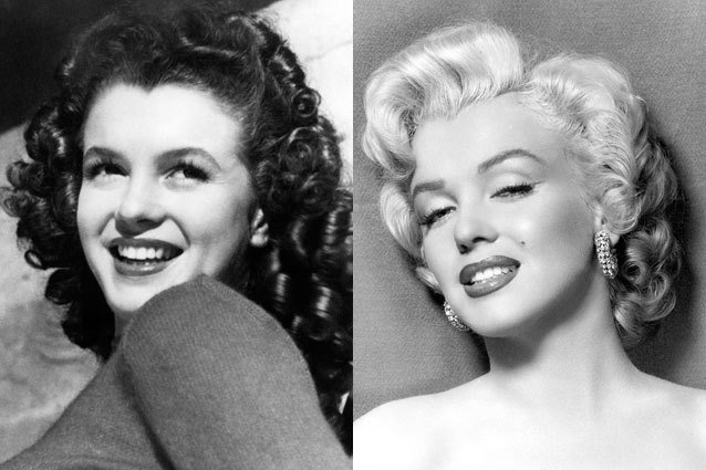 Marilyn Monroe nose job