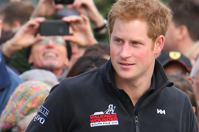 Prince Harry to walk to the South Pole