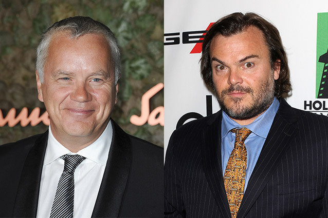 Tim Robbins and Jack Black