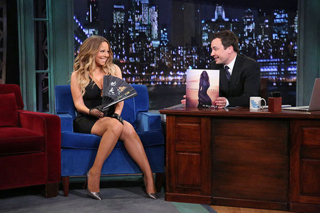 Mariah Carey, Late Night with Jimmy Fallon