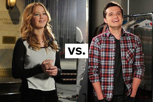 Jennifer Lawrence, Josh Hutcherson, SNL Hosts