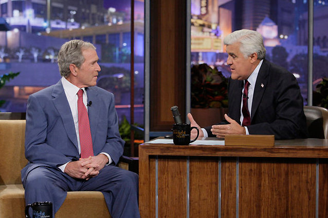Jay Leno, George Bush