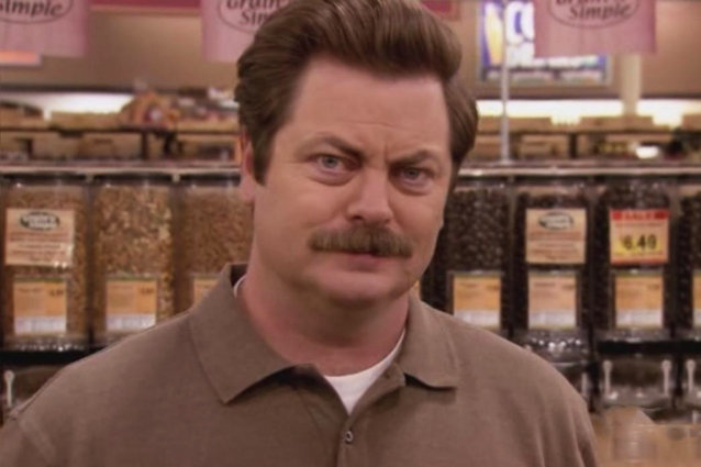 Ron Swanson, Parks and Rec
