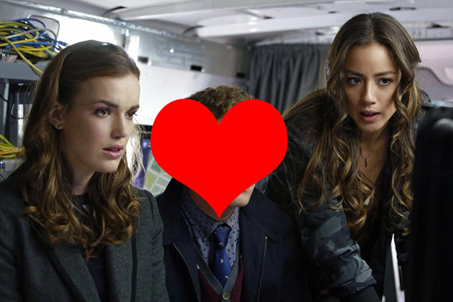Chloe Bennet, Elizabeth Henstridge, Agents of Shield