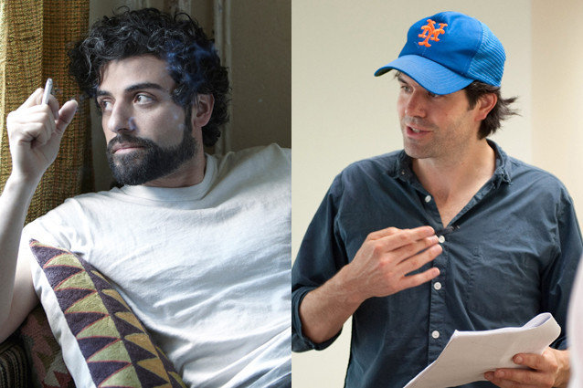 Oscar Isaac and J.C. Chandor