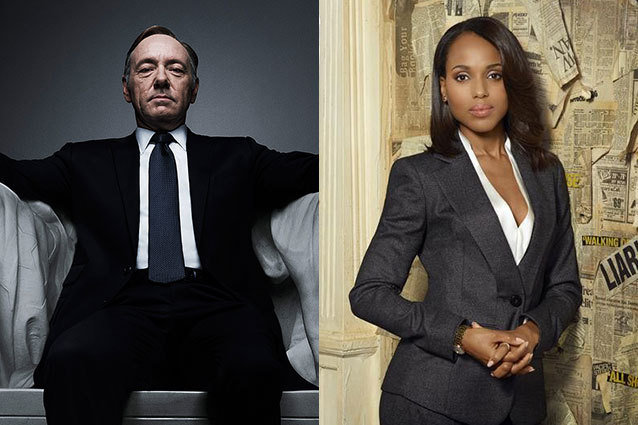 Kevin Spacey, Kerry Washington