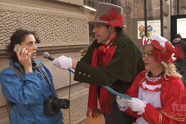 Amy Poehler, Billy Eichner, Christmas Carols
