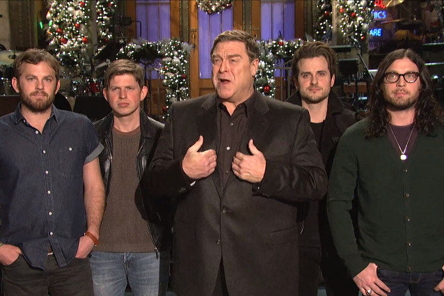 John Goodman, Kings of Leon, Saturday Night Live