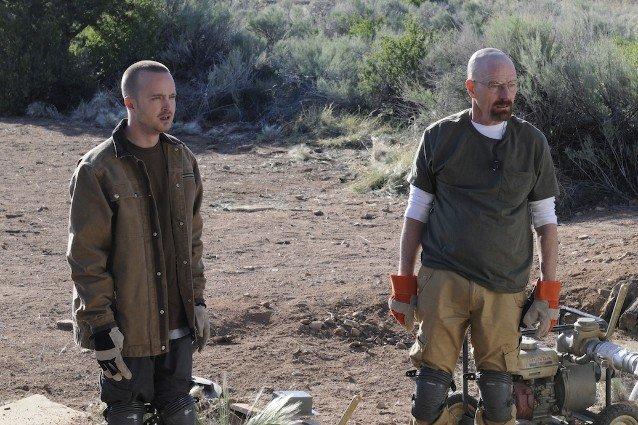 Breaking Bad, Aaron Paul and Bryan Cranston