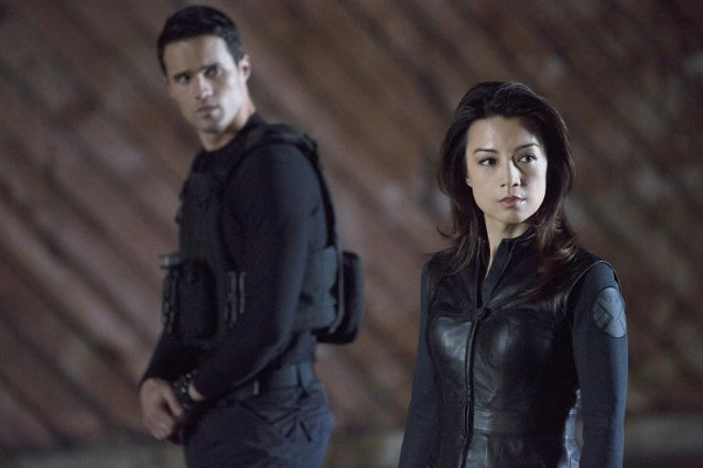 Agents of SHIELD, Brett Dalton and Ming Na Wen