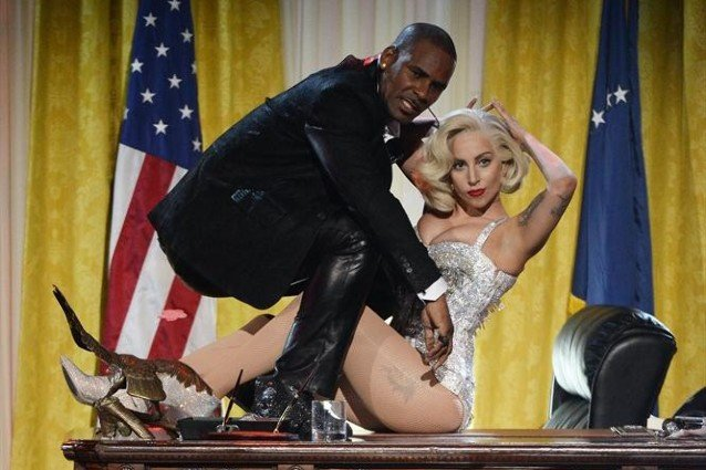 Lady Gaga, R. Kelly, American Music Awards