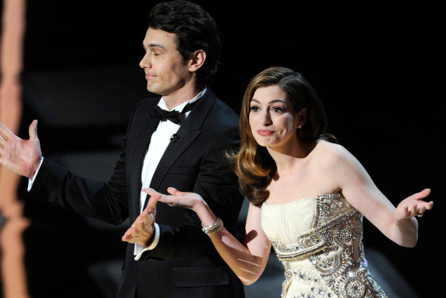 James Franco, Anne Hathaway, Academy Awards