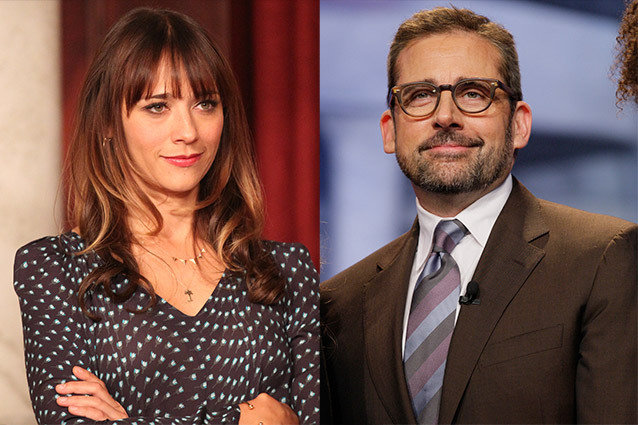 Rashida Jones and Steve Carell