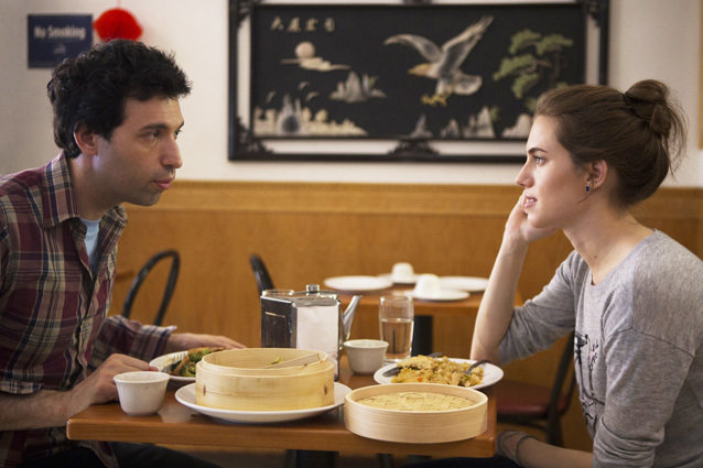 Girls, Allison Williams and Alex Karpovsky