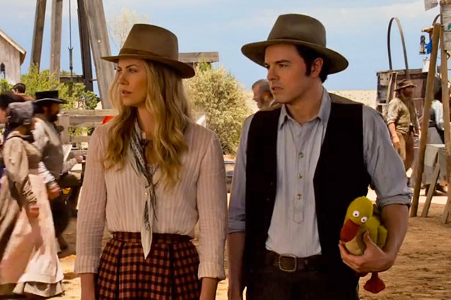 A Million Ways to Die in the West, Trailer