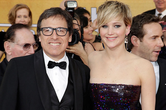 David O'Russell and Jennifer Lawrence