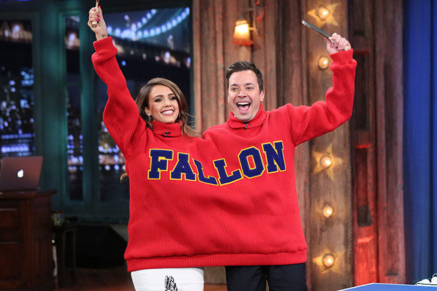 Late Night with Jimmy Fallon, Jessica Alba
