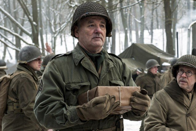 Bill Murray, Monuments Men
