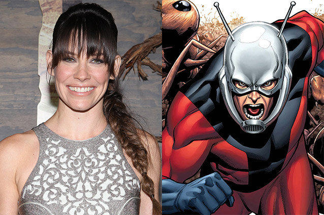 Evangeline Lilly/ Ant-Man