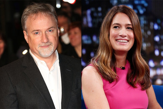 David Fincher and Gillian Flynn