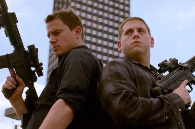22 Jump Street, Jonah Hill and Channing Tatum
