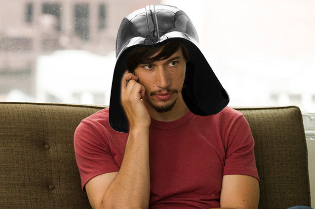 Adam Driver, Star Wars, Darth Vader