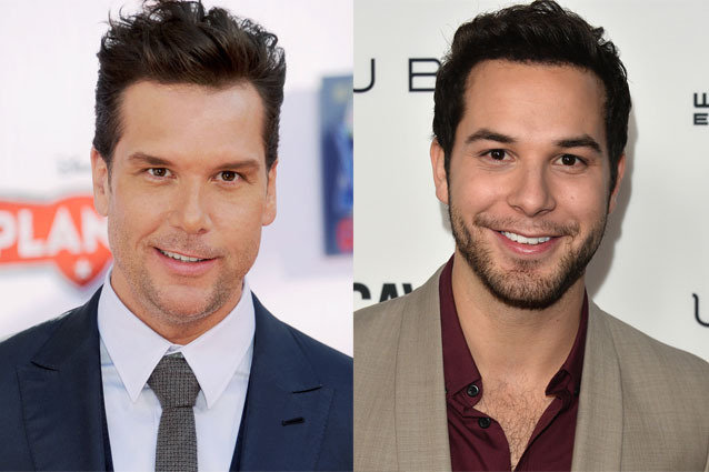 Dane Cook and Skylar Astin