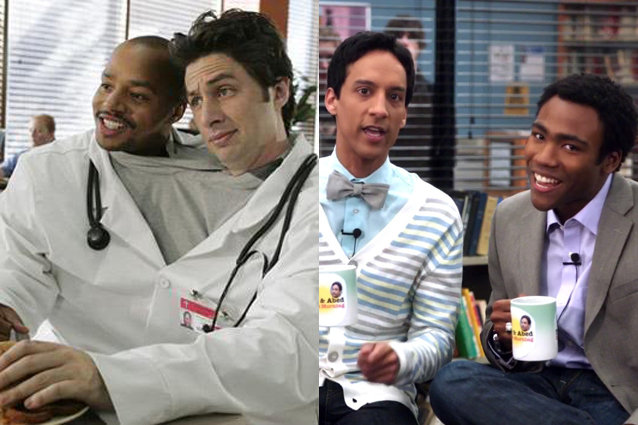 Scrubs/Community, Best Bromance