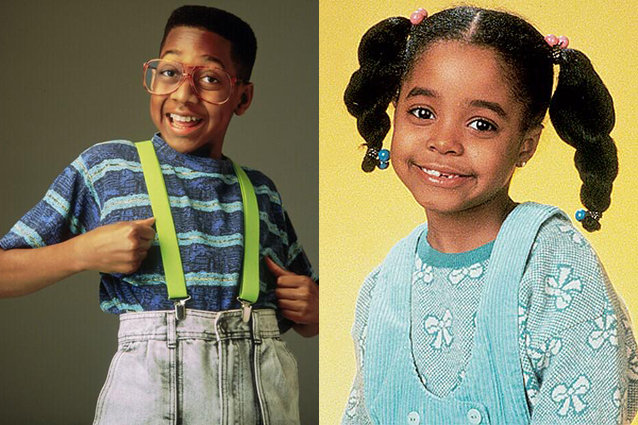 Jaleel White, Keshia Knight Pulliam, The Cosby Show