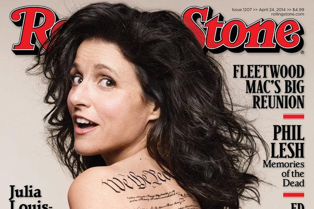 Julia Louis-Dreyfus, Rolling Stone magazine