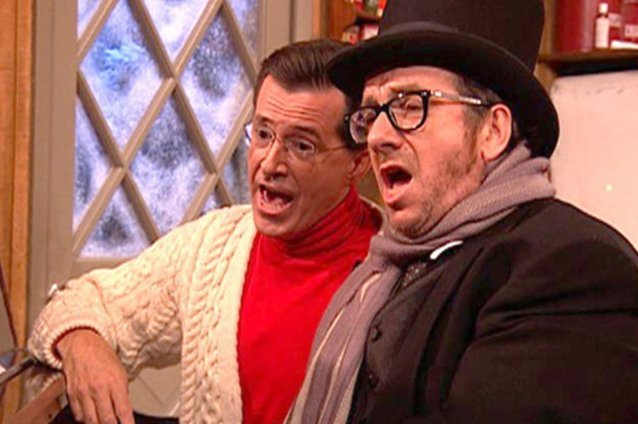 Stephen Colbert, Elvis Costello