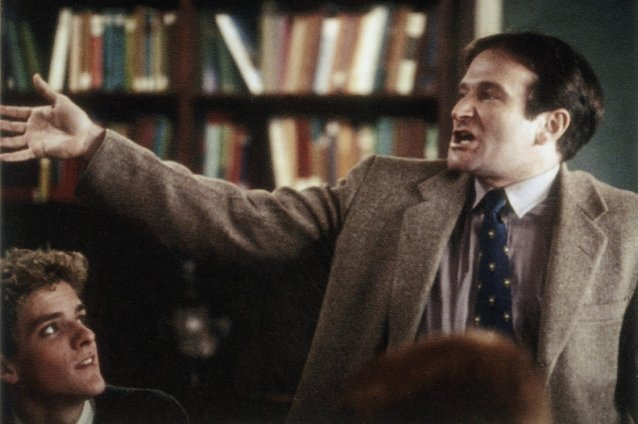 Robin Williams, Dead Poets Society