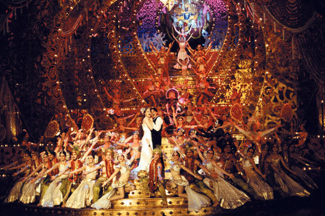 Moulin Rouge, Ewan McGregor and Nicole Kidman