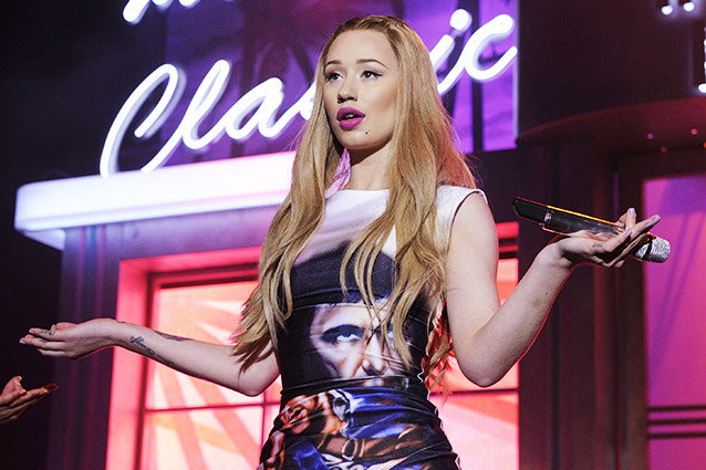 Iggy Azalea performing live at The Music Hall in Toronto as part of The New Classic Tour    Featuring: Iggy Azalea  Where: Toronto, Canada  When: 26 Apr 2014  Credit: DC5/WENN.com