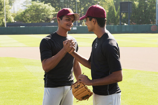 Million Dollar Arm, Madhur Mittal and Suraj Sharma