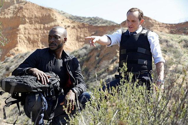 Agents of SHIELD, BJ Britt and Clark Gregg