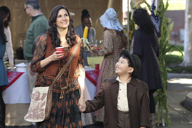 Trophy Wife, Albert Tsai and Michaela Watkins