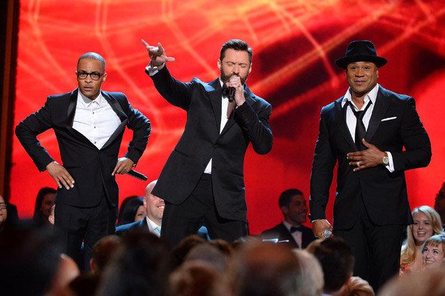 Hugh Jackman, LL Cool J, TI