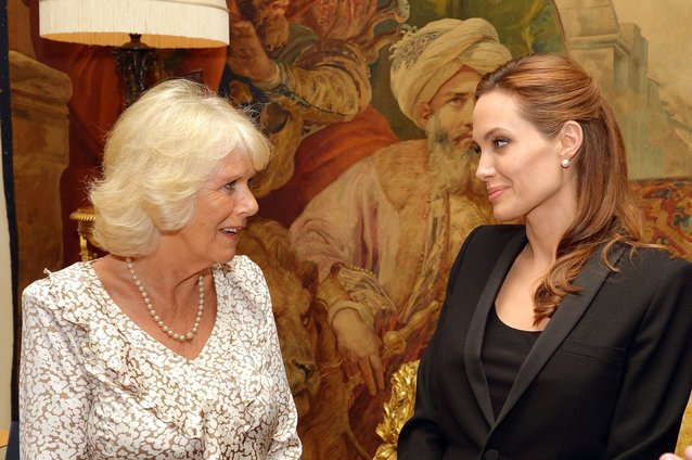 Angelina Jolie, Camilla Duchess of Cornwall