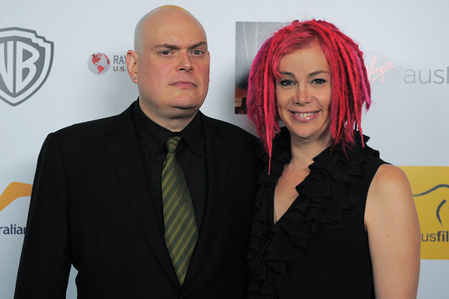 Larry and Lana Wachowski
