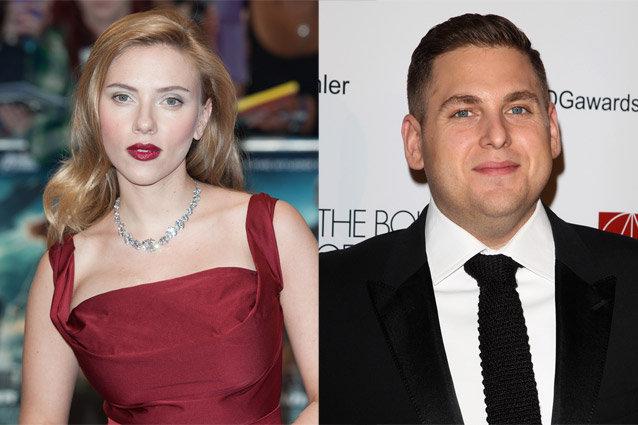 Scarlett Johansson and Jonah Hill