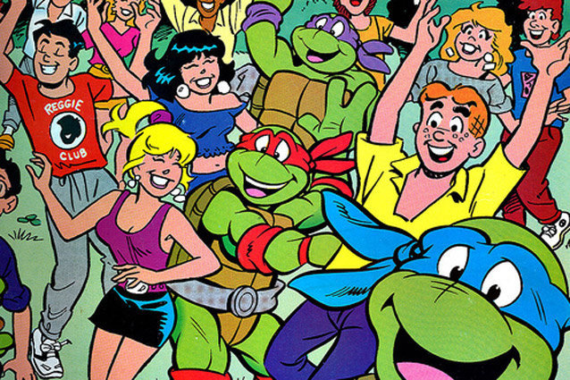 Archie and the TMNT