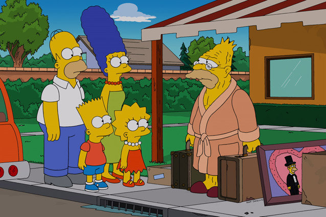 The Simpsons, Grampa Abe Simpson