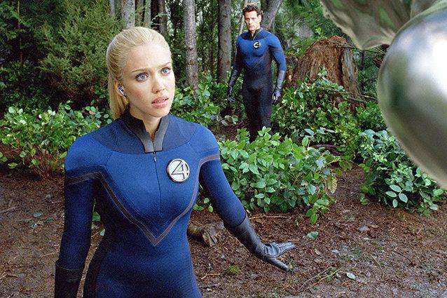 Invisible Woman, Jessica Alba, Fantastic Four