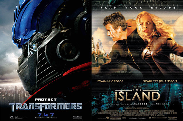 Transformers, The Island