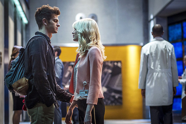 Amazing Spider-Man 2, Emma Stone and Andrew Garfield