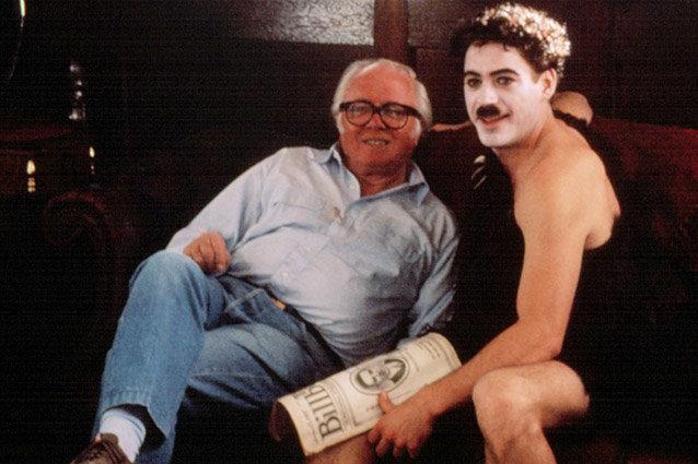 Robert Downey Jr. and Richard Attenborough