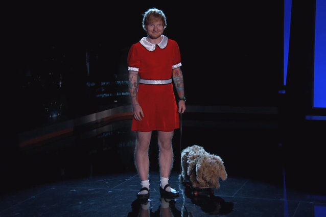 Ed Sheeran, Jimmy Kimmel Live