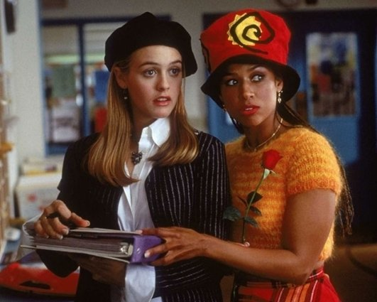 Stacy Dash in 'Clueless' (Movie and TV)