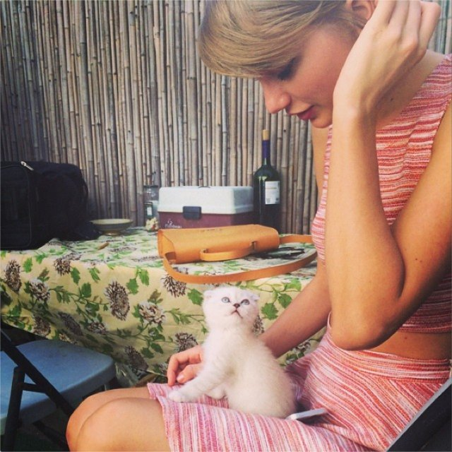 Taylor Swift, Instagram